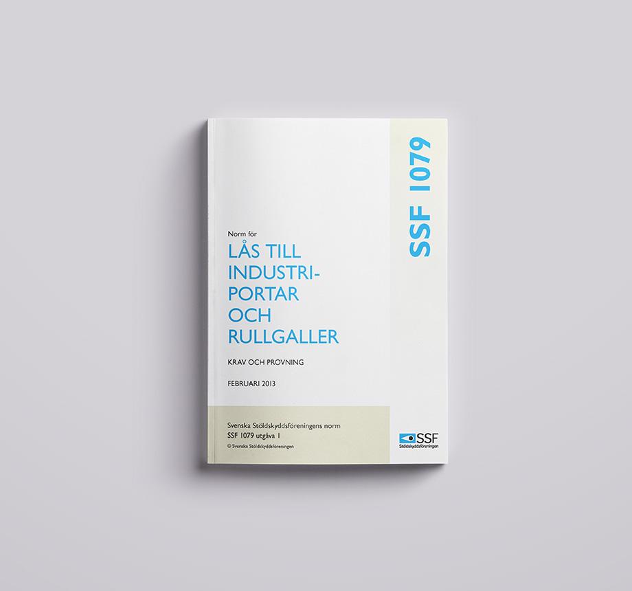 SSF 1079 01 Lås till Industriportar och rullgaller Krav och provning