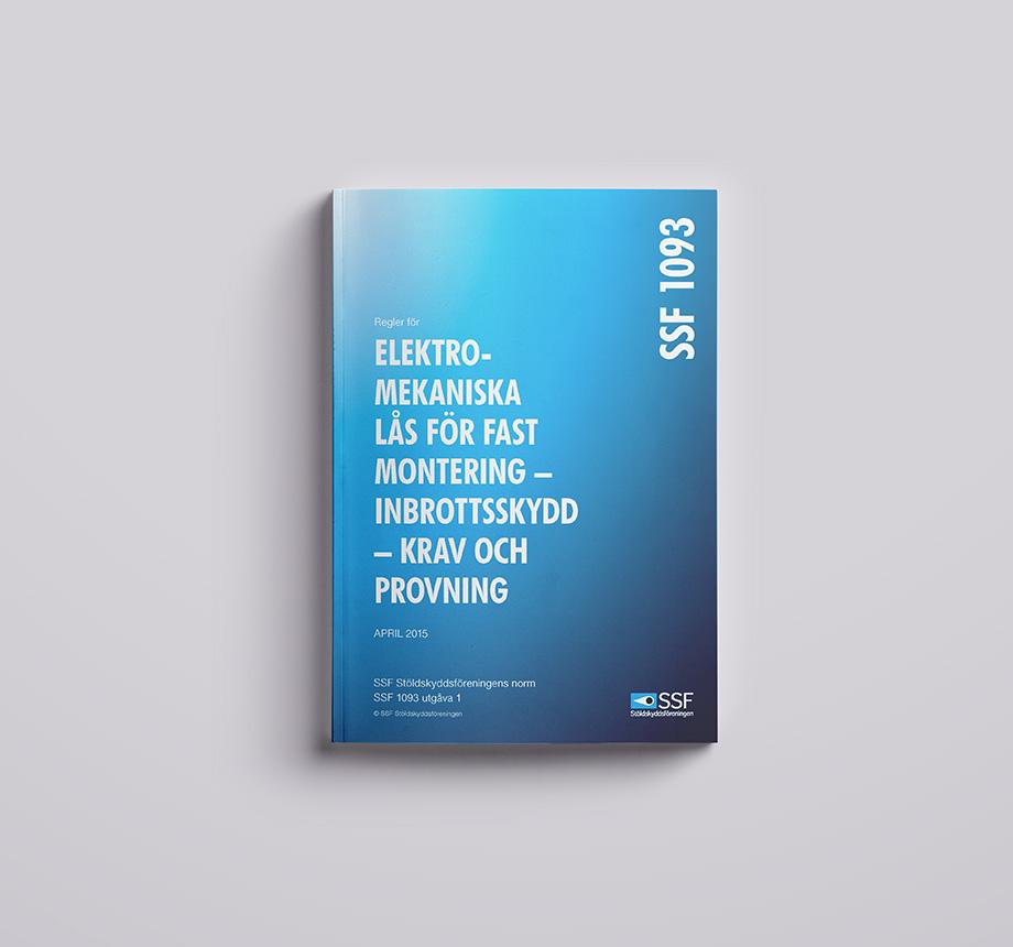 SSF 1093 Elektromekaniska lås