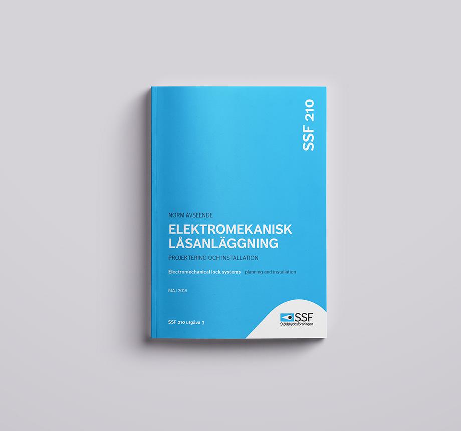 SSF 210 utg 3 Elektromekanisk låsanläggning