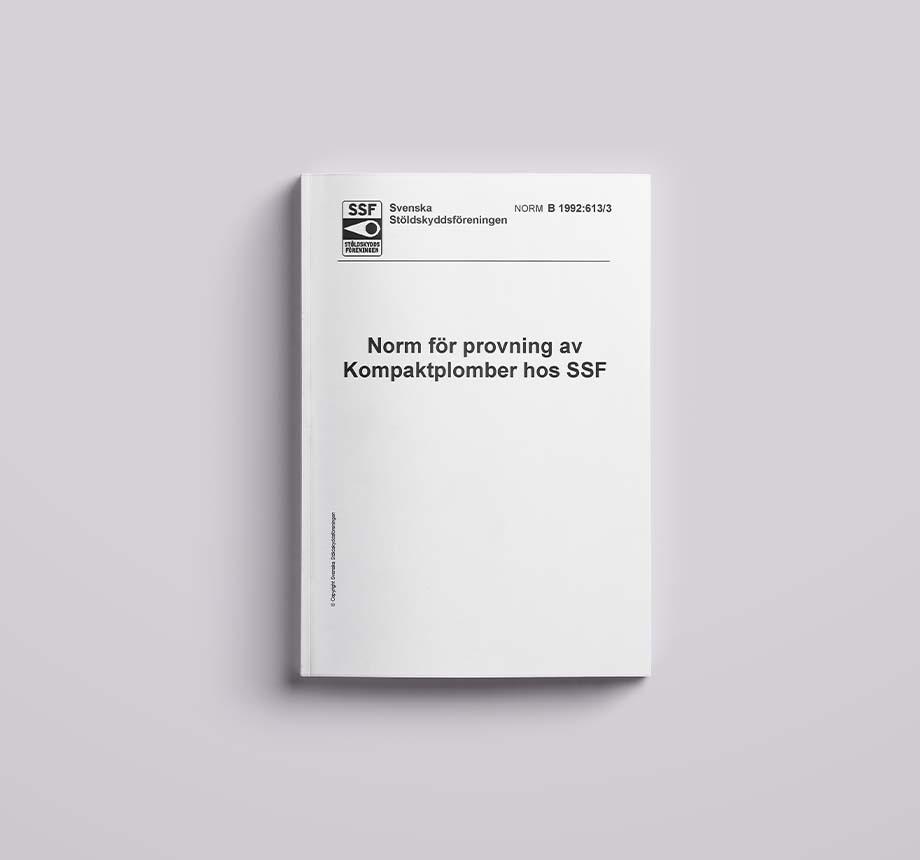 SSF B 1992.613.3 Kompaktplomber