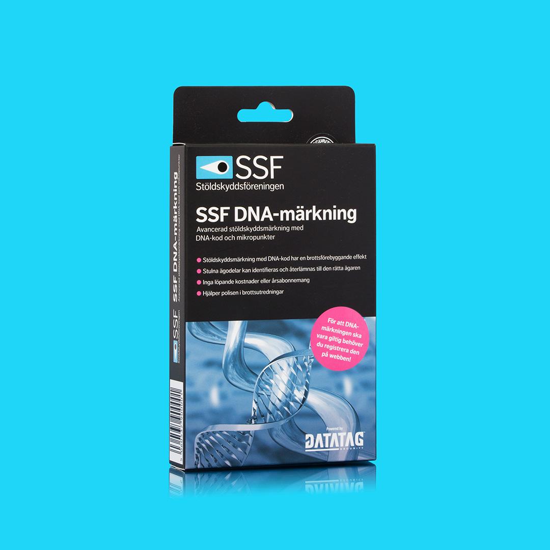 SSF DNA märkning produktbild