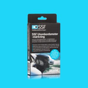 SSF Utombordsmotor-märkning