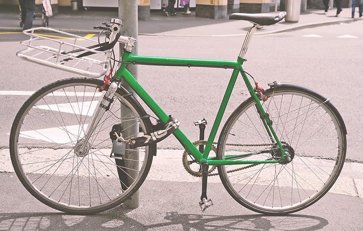 Markant minskning av cykelstölder 2021