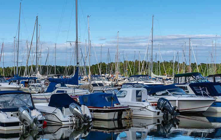 Förvara din båt och båtmotor på rätt sätt.